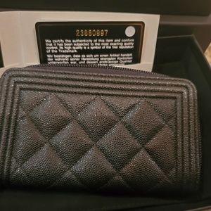 CHANEL Bags - Chanel boy wallet